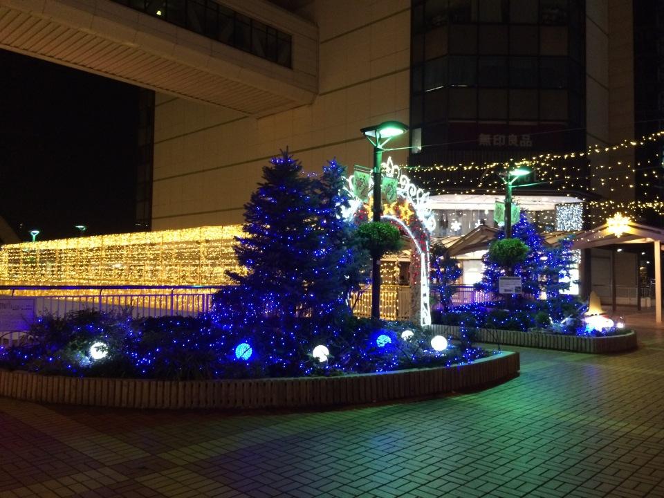 イルミネーション@豊田駅前