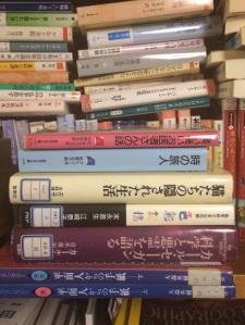 図書館のリサイクル市でゲットした本たち